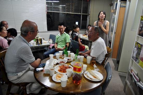 第52回「文化から学ぶ韓国語」C&Cビアーホールオープン04