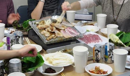第53回「文化から学ぶ韓国語」~石焼サムギョップサル07