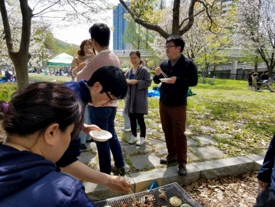 第69回文化から学ぶ韓国語~お花見04