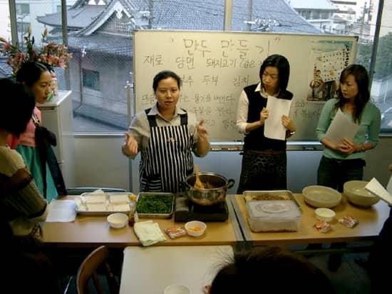 第6回 文化から学ぶ韓国語ーマンドゥ作り01