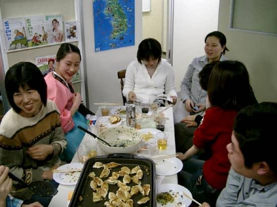 第6回 文化から学ぶ韓国語ーマンドゥ作り03