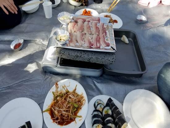 第70回文化から学ぶ韓国語~サムギョプサルパーティー01