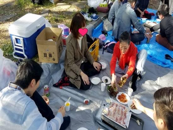 第70回文化から学ぶ韓国語~サムギョプサルパーティー10
